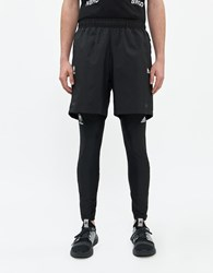 Adidas Nbhd Compression Tight Top In Black Size Small Spandex