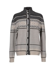 Henry Cotton's Cardigans Light Grey