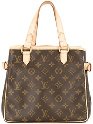 Louis Vuitton Vintage Batignolles Tote Bag Brown