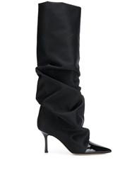 Marc Ellis Slouch Boots Black