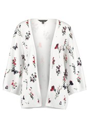 Dorothy Perkins Tall Ivy Floral Cardigan Ivory Off White