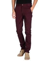 Wemoto Trousers Casual Trousers Men Maroon