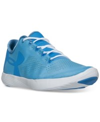 Under Armour Women's Street Precision Low Running Sneakers From Finish Line Water White