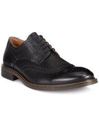 Alfani Tyler Wing Tip Derby Oxfords Only At Macy's Men's Shoes Black