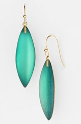 Women's Alexis Bittar 'Lucite Neo Bohemian' Small Sliver Earrings Leaf Green