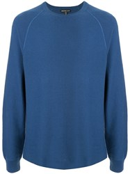 James Perse Thermal Raglan Sweatshirt 60