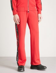 Blood Brother Branded Tape Sports Jersey Jogging Bottoms Red