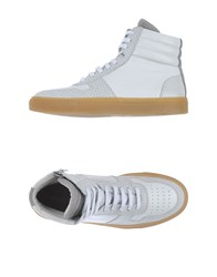 National Standard Footwear High Tops And Trainers Women White