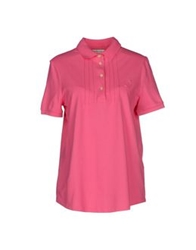Jeckerson Polo Shirts Fuchsia