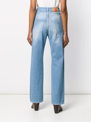 Y Project High Waist Jeans Blue