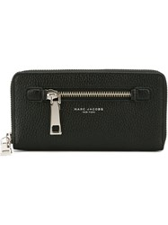 Marc Jacobs 'Gotham' Continental Wallet Black