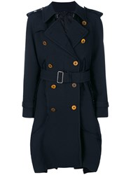 Comme Des Garcons Belted Oversized Trench Polyester S
