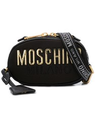 Moschino Crossobody Logo Bag Black