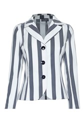 James Lakeland Stripe Tailored Jacket Black