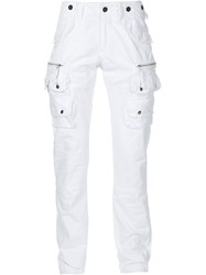 Prps Cargo Trousers White
