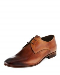 Jared Lang Leather Dress Shoe W Ombre Brown