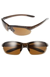 Smith Optics Women's Parallel Max 69Mm Polarized Sunglasses Brown