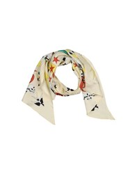 Richmond Denim Accessories Oblong Scarves Men Ivory
