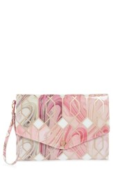 Ted Baker London Sea Of Clouds Envelope Clutch White