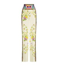 Etro Floral Print Palazzo Trousers Female Multi