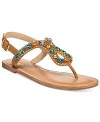 Dolce By Mojo Moxy Rosary Flat Sandals Women's Shoes Multi