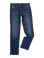 Hugo Boss Delaware Mid Wash Slim Fit Jean Denim Mid Wash