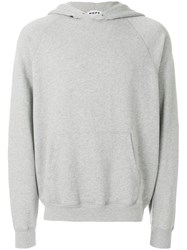 Hope Hooded Knit Jumper Grey