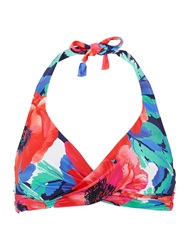 Phase Eight Riviera Print Bikini Top Multi Coloured