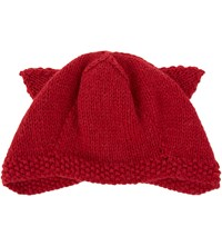The North Circular Earviator Alpaca Beanie Red