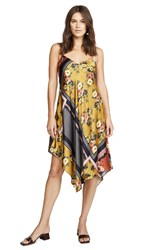 Cami Nyc The Bonnie Dress Scarf Print