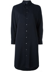 Stephan Schneider 'Picture' Shirt Dress Blue