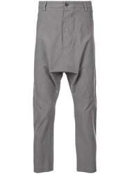 Lost And Found Rooms Loose Fitted Trousers Grey