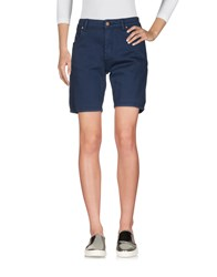 Molly Bracken Denim Bermudas Dark Blue