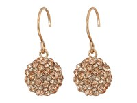 Vera Bradley Radiant Fireball Drop Earrings Rose Gold Tone Earring