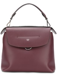 Fendi Back To School Backpack Leather Red