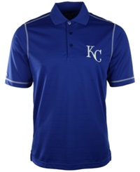 Antigua Men's Short Sleeve Kansas City Royals Icon Polo Royalblue White
