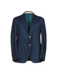 Tombolini Suits And Jackets Blazers Dark Blue