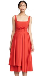 Awake A.W.A.K.E. Camilla Dress Red