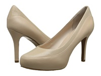 Rockport Seven To 7 High Color Block Pump Nude Suede Pearlized Women's Shoes Beige