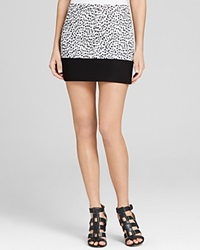 Michael Michael Kors Animal Print Mini Skirt