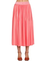 Givenchy Pleated Midi Skirt Pink