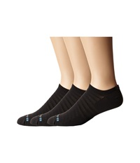 Drymax Sport Hyper Thin Running V4 No Show 3 Pair Pack Black No Show Socks Shoes