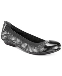 Karen Scott Ronni Flats Only At Macy's Women's Shoes Black