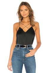 By The Way Lila Strappy Tank Black