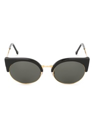 Retrosuperfuture Retro Super Future 'Ilaria' Sunglasses Black