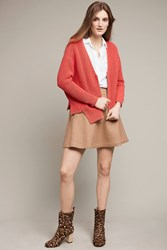 Moth Carmine Dolman Cardigan Red