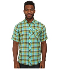 Outdoor Research Jinx S S Shirt Palm Men's Clothing Green