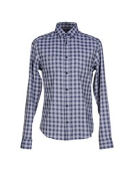 Byblos Shirts Dark Blue