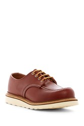 Red Wing Shoes Work Leather Derby Factory Second Copper