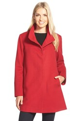 Women's Fleurette Wool Stand Collar Car Coat Nordstrom Exclusive